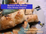 02Spinach and Ricotta Pate Brisee Fingers copy
