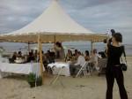 beach wedding 2011 chatham beach plumchef