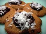 Ginger Cookies w Dark Chocolate &Coconut