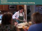 Beach Plum Chef of Cape Cod –Classes