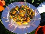 Sesame Sweet Potato & GreenOnion