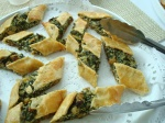 spinach and ricotta pastries - appetizers beach plum chef personal chef and event services of cape cod